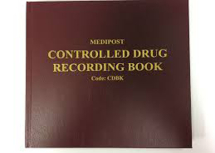 Controlled Drugs Record Book - Hard Back