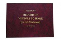Record of Visitors Book