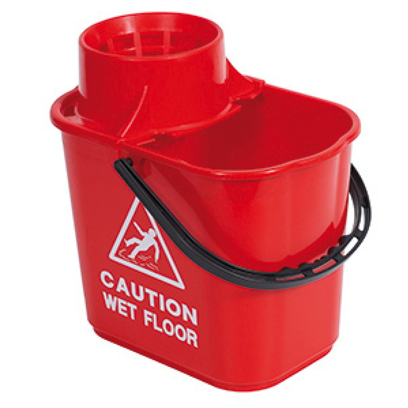 Red Contract Bucket With Wringer