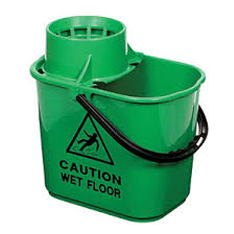 Green Contract Bucket with Wringer