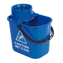 Blue Contract Bucket With Wringer