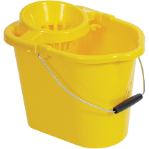 Yellow Value Bucket With Wringer