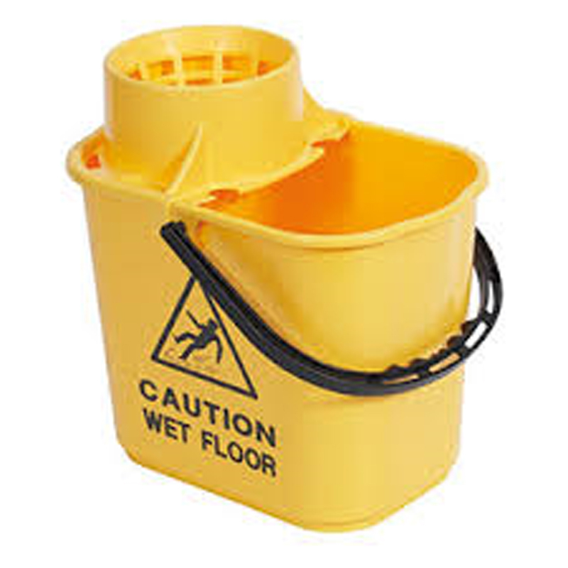 Yellow Contract Bucket With Wringer