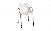 Stationary Shower Chair Height Adjustable