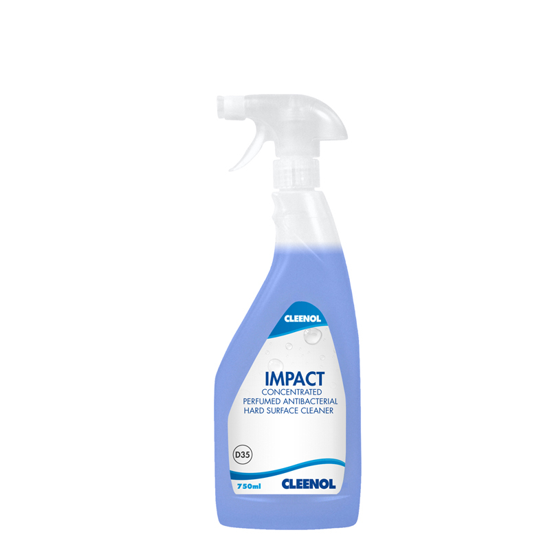 Impact Antibacterial Hard Surface Cleaner 6x750ml