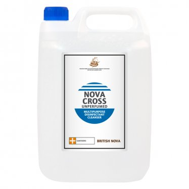 Novacross Unperfumed Disinfectant Cleaner 2x5L