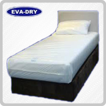 Eva-Dry Waterproof Single Mattress Cover