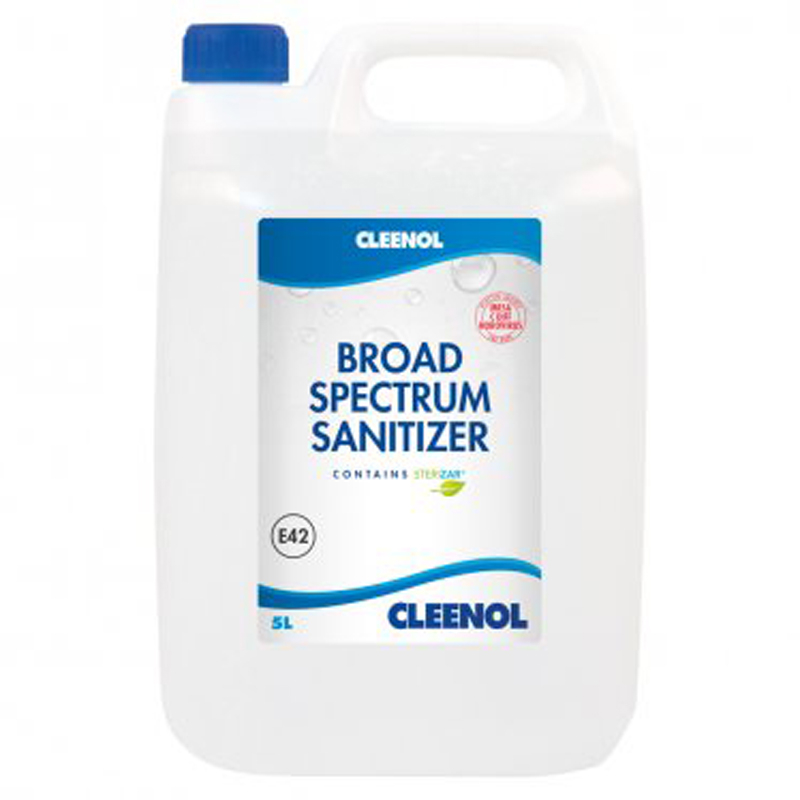 Broad Spectrum Sanitizer (contains Sterizar) 2x5L