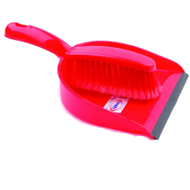 Dustpan & Brush - Red