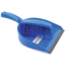 Dustpan & Brush - Blue
