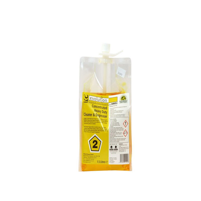 Evolution Heavy Duty Cleaner & Degreaser 2x1.5L