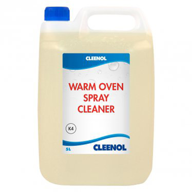 Warm Oven Spray Cleaner 5L