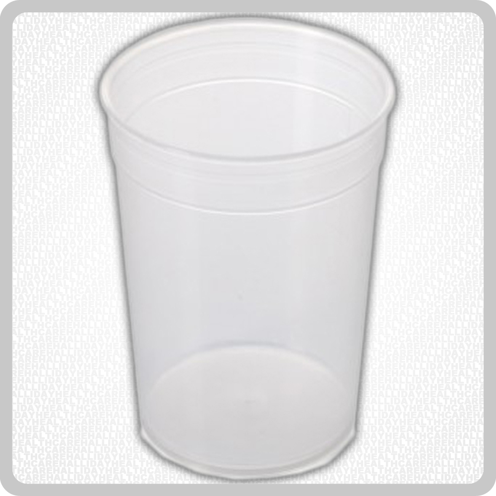 Plastic Feeder Beaker No Handle - 250ml