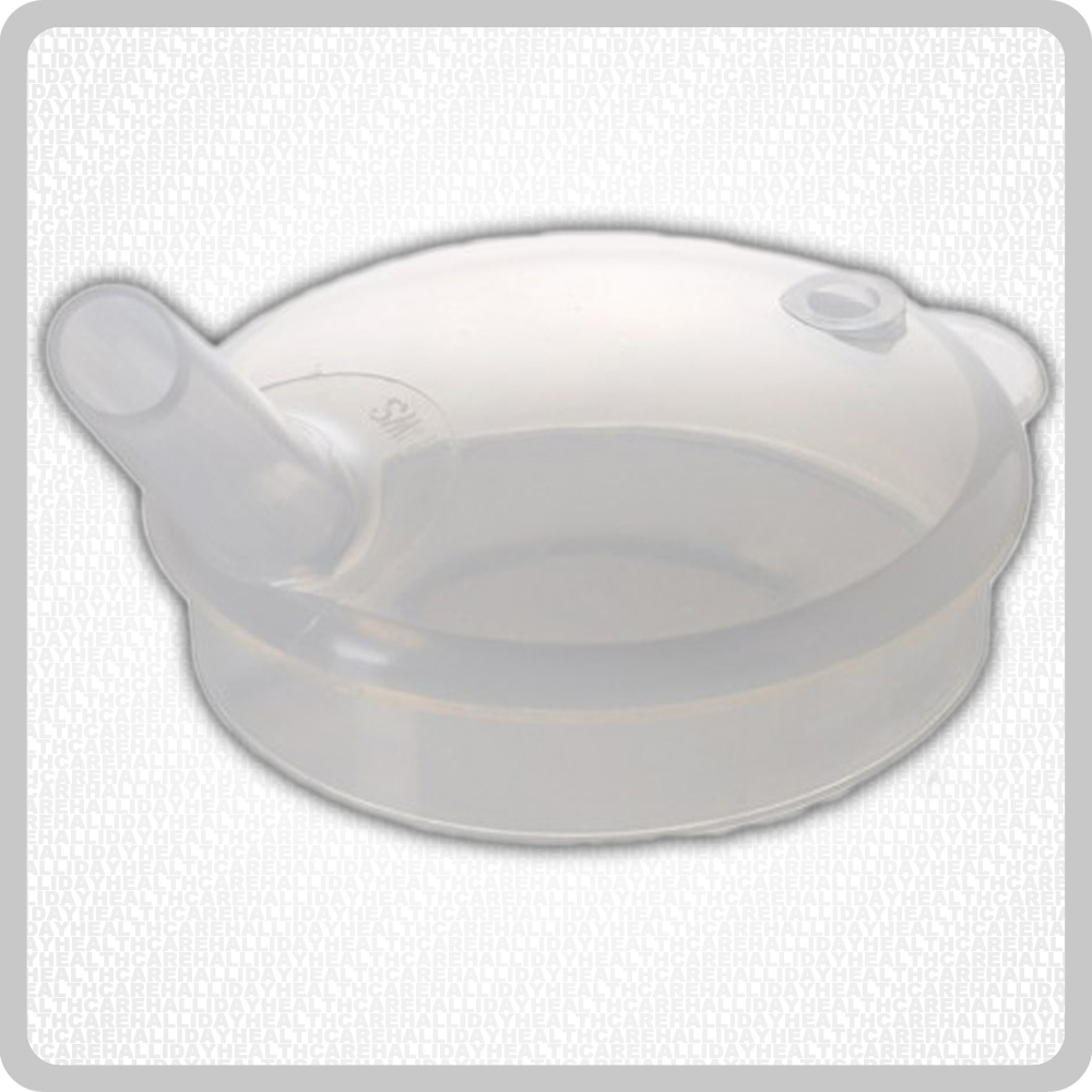 Plastic Lid Wide Spout - 8mm