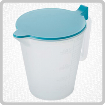 Plastic Jug With Lid - 1000ml