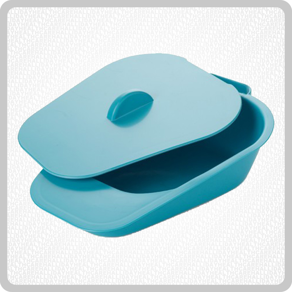 Plastic Female Slipper Urinal Pan With Lid