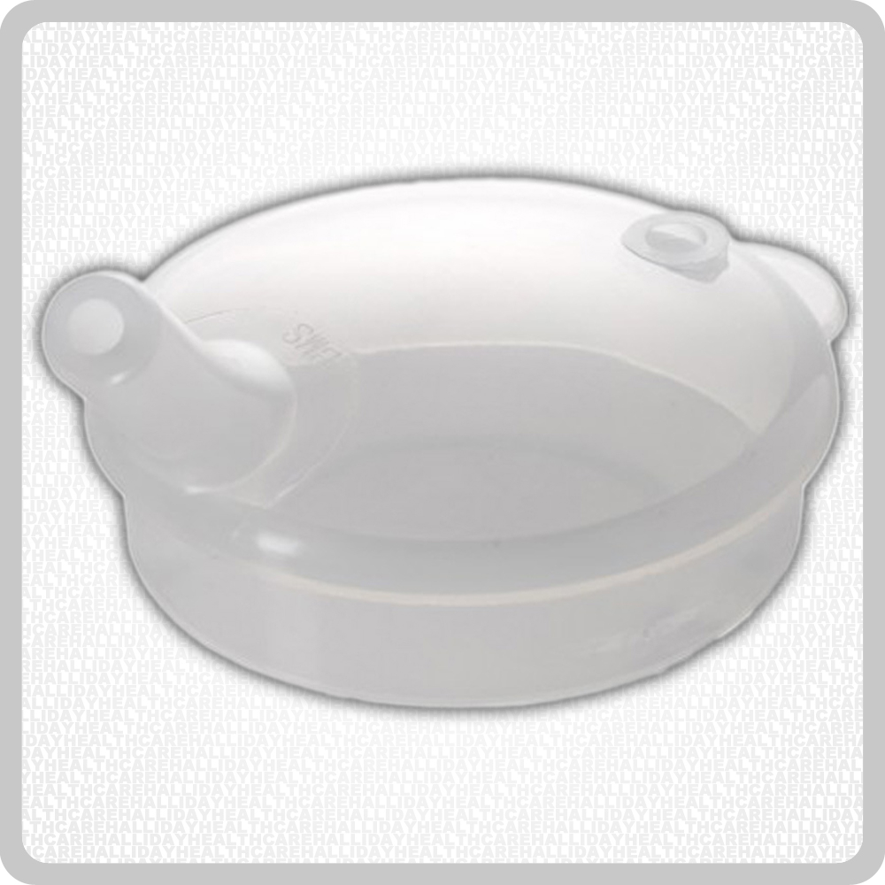 Plastic Lid Medium Spout - 6mm