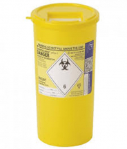 Sharpsguard® Container Yellow Lid 5L