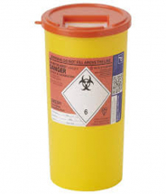 Sharpsguard® Container Orange Lid 5L