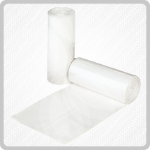 Pedal Bin Liners On Roll 20x100