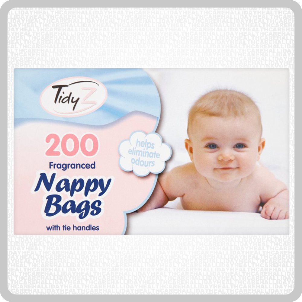 Nappy Sacks 6x200