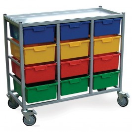 Karri-Cart Combi 12 Trays without Hanging Rail
