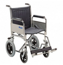 Transit Wheelchair with Detachable Arm & Foot Rest